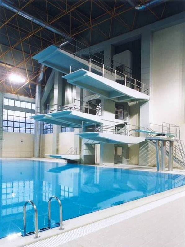 Patras Swimming Pool Projects Building Projects Olympic Games Projects Sports Facilities