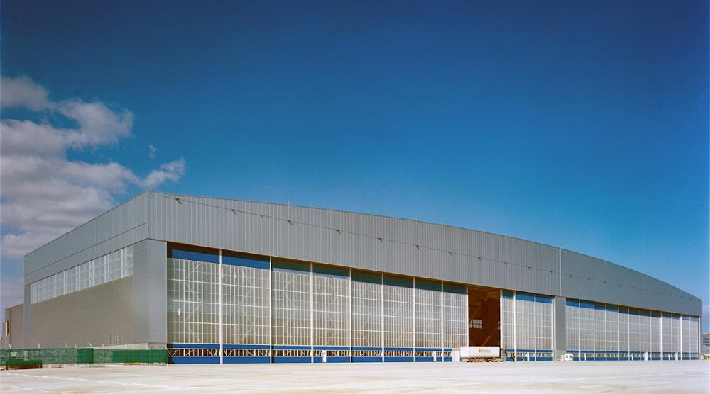 Olympic Airways Hangar Athens International Airport