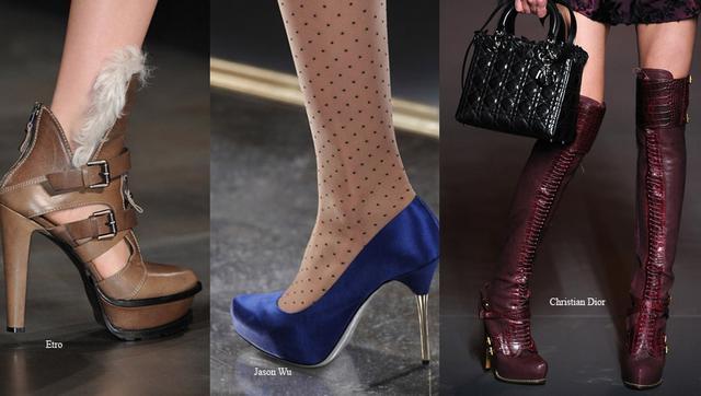 Λουράκια, τακούνι στιλέτο, σατέν και κορδόνια κυριαρχούν τα παπούτσια της φετινής σεζόν.