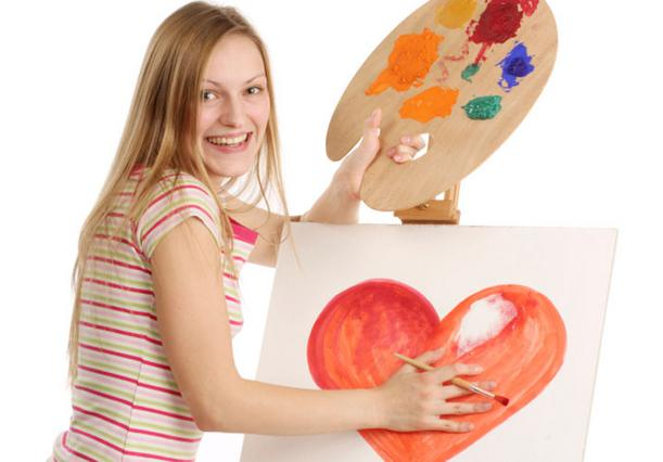 Ο βήχας κι ο έρωτας δεν κρύβονται! Αν ζωγραφίζεις καρδούλες, όπου βρεθείς κι όπου σταθείς, μάλλον είσαι σφόδρα ερωτευμένη.