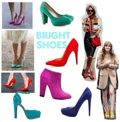 Τέλεια παπούτσια σε αναπάντεχα χρώματα!