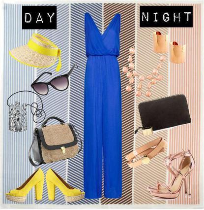 Η μπλε ολόσωμη φόρμα, μπορεί να γίνει δεύτερο δέρμα σου από το πρωί μέχρι το βράδυ.