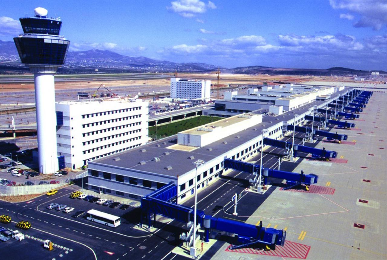 Eleftherios Venizelos International Airport Main Terminal
