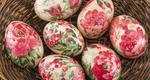 Σούπερ ιδέα! Πώς θα βάψεις τα αβγά με χρωματιστή χαρτοπετσέτα