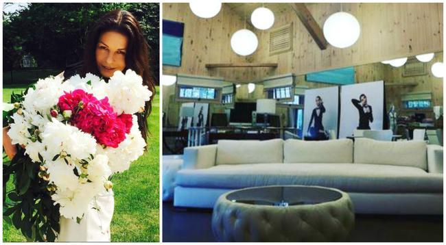 Η Κάθριν Ζέτα Τζόουνς μας ξεναγεί στο σπίτι της [photos]