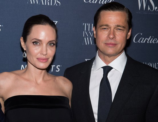 <p>Angelina Jolie and Brad Pitt (Photo by Charles Sykes/Invision/AP, File)</p>