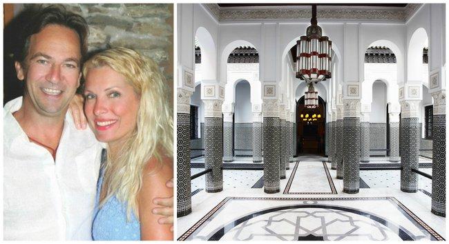 Μενεγάκη & Παντζόπουλος: Σε αυτό το παλάτι στο Μαρόκο πέρασαν το Πάσχα [photos]