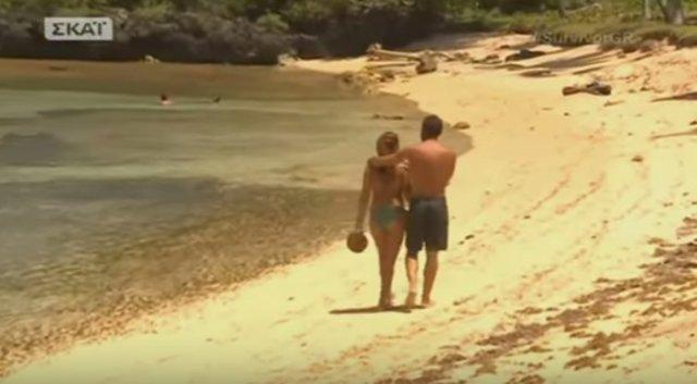 Survivor: Εδώ υπάρχει ένας έρωτας μεγάλος! Το δώρο του Βασάλου στην Ευρυδίκη (vds)