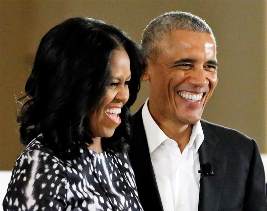 <p>Barack and Michelle Obama (AP Photo/Nam Y. Huh)</p>