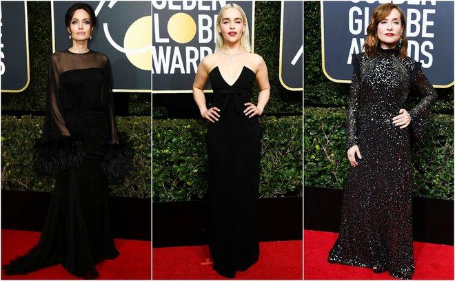 Χρυσές Σφαίρες 2018: Το «μαύρο» κόκκινο χαλί [photos]