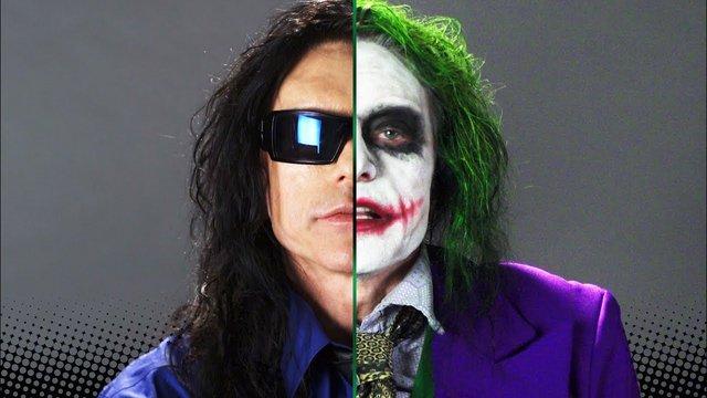 Oh, hi Batman! Ο Τόμι Γουαϊζό φτιάχνει τον δικό του Joker