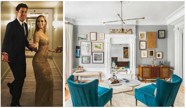 Μπήκαμε στο σπίτι της Emily Blunt και του John Krasinski [photos]
