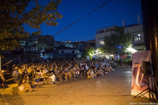 Κατάμεστη η πλατεία Αβησσυνίας για το Athens Open Air Film Festival