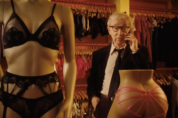 Woody Allen pays a visit to the Athens Open Air Film Festival
