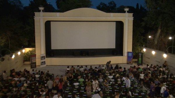 Open air cinemas the stars of tonight's screening!