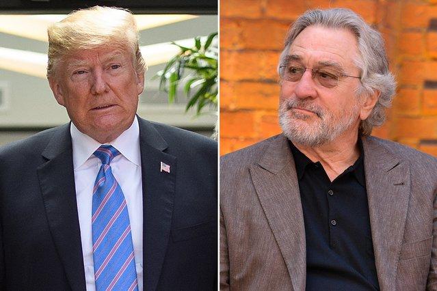 Ντόναλντ Τραμπ εναντίον Ρόμπερτ Ντε Νίρο στη συνέχεια μιας ατέλειωτης κόντρας