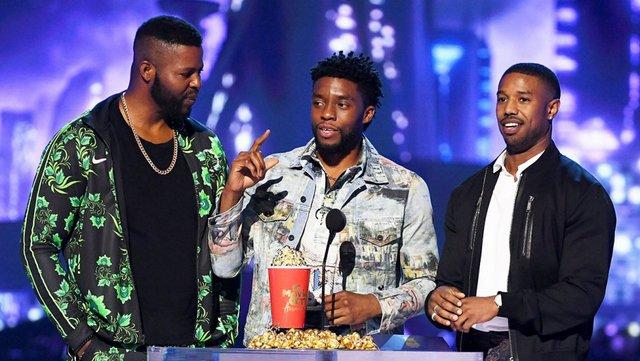 Ο «Μαύρος Πάνθηρας» έδειξε τα νύχια του στα βραβεία του MTV