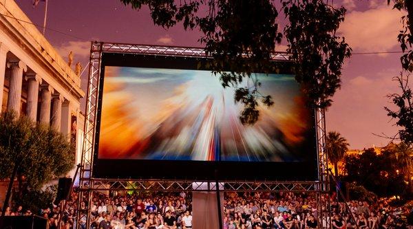 Ανακοίνωση σχετικά με τη διακοπή προβολής του 8ου Αthens Open Air Film Festival στο Εθνικό Αρχαιολογικό Μουσείο