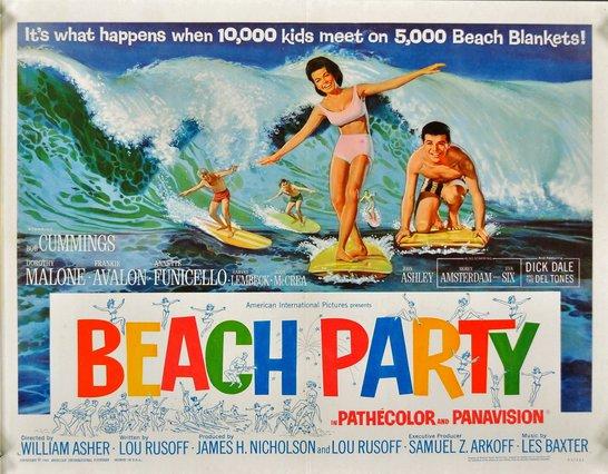 Beach Party Films! Ένα κινηματογραφικό υπο-είδος υψηλής υποκουλτούρας