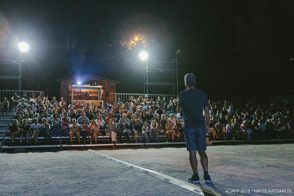 Οι θεατές του 8ου Athens Open Air Film Festival ανακάλυψαν τον «Συλλέκτη» στο Θέατρο Ρεματιάς