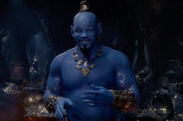 Ο Γουίλ Σμιθ γίνεται μπλε στο νέο τρέιλερ του «Αλαντίν»