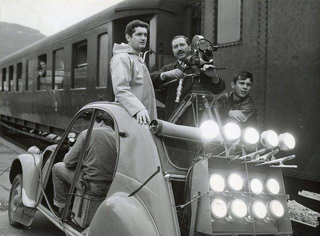 Στα γυρίσματα του «Οι Ομπρέλες του Χερβούργου» [photos]