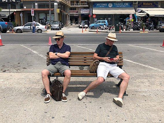 Ο Στιβ Κούγκαν και ο Ρομπ Μπράιντον στη χώρα μας για τα γυρίσματα του «The Trip to Greece»