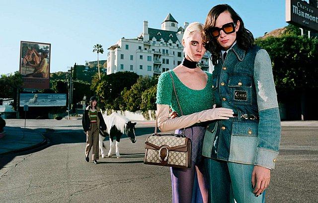 Τα μοντέλα και τα άλογα: Ο Γιώργος Λάνθιμος σκηνοθετεί την καμπάνια του οίκου Gucci