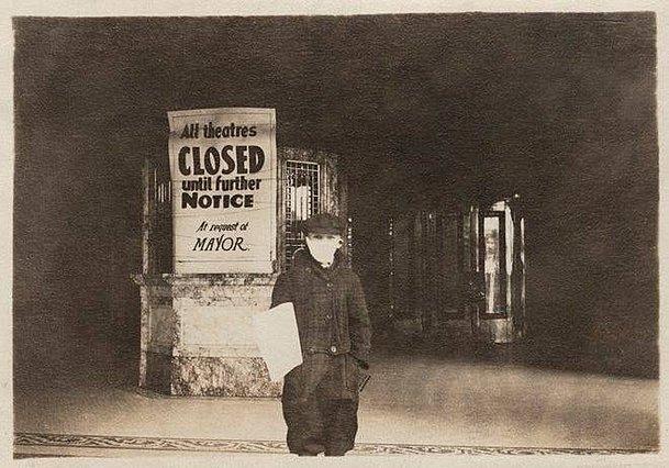 1918: Όταν η ισπανική γρίπη έκλεινε τις αμερικανικές αίθουσες