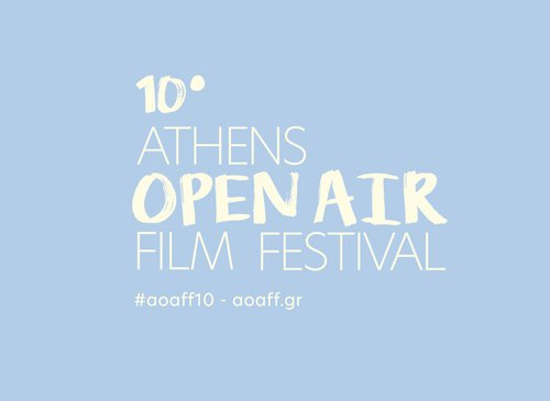 The poster of the 10th Athens Open Air Film Festival