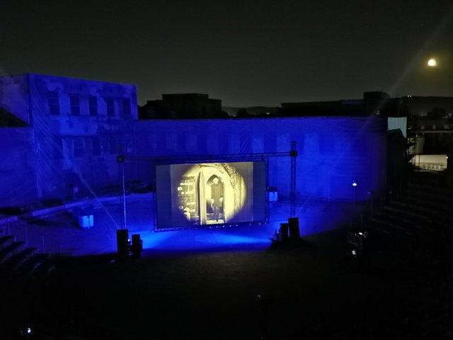 AOAFF 2021: Μαγευτική «Συμφωνία Τρόμου» με τον Νίκο Βελιώτη χθες βράδυ στην Ελευσίνα