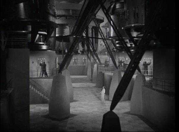 «Μητρόπολις» (1927) του Φριτζ Λανγκ, Σκηνογραφία: Ότο Χάντε, Έρικ Κέτελχουτ, Καρλ Βόλμπρεχτ