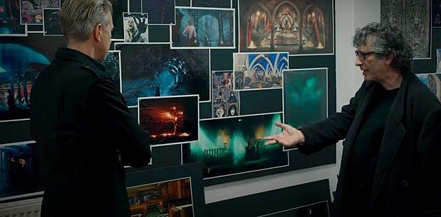 Πρώτες εικόνες «Sandman»: Ο Νιλ Γκέιμαν μας ξεναγεί στα παρασκήνια της πολυαναμενόμενης σειράς